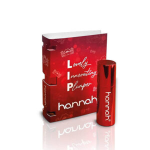 hannah red line lip touch