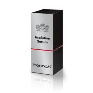 hannah red line asolution serum 30ml in verpakking